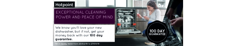 Hotpoint dishwasher promotion